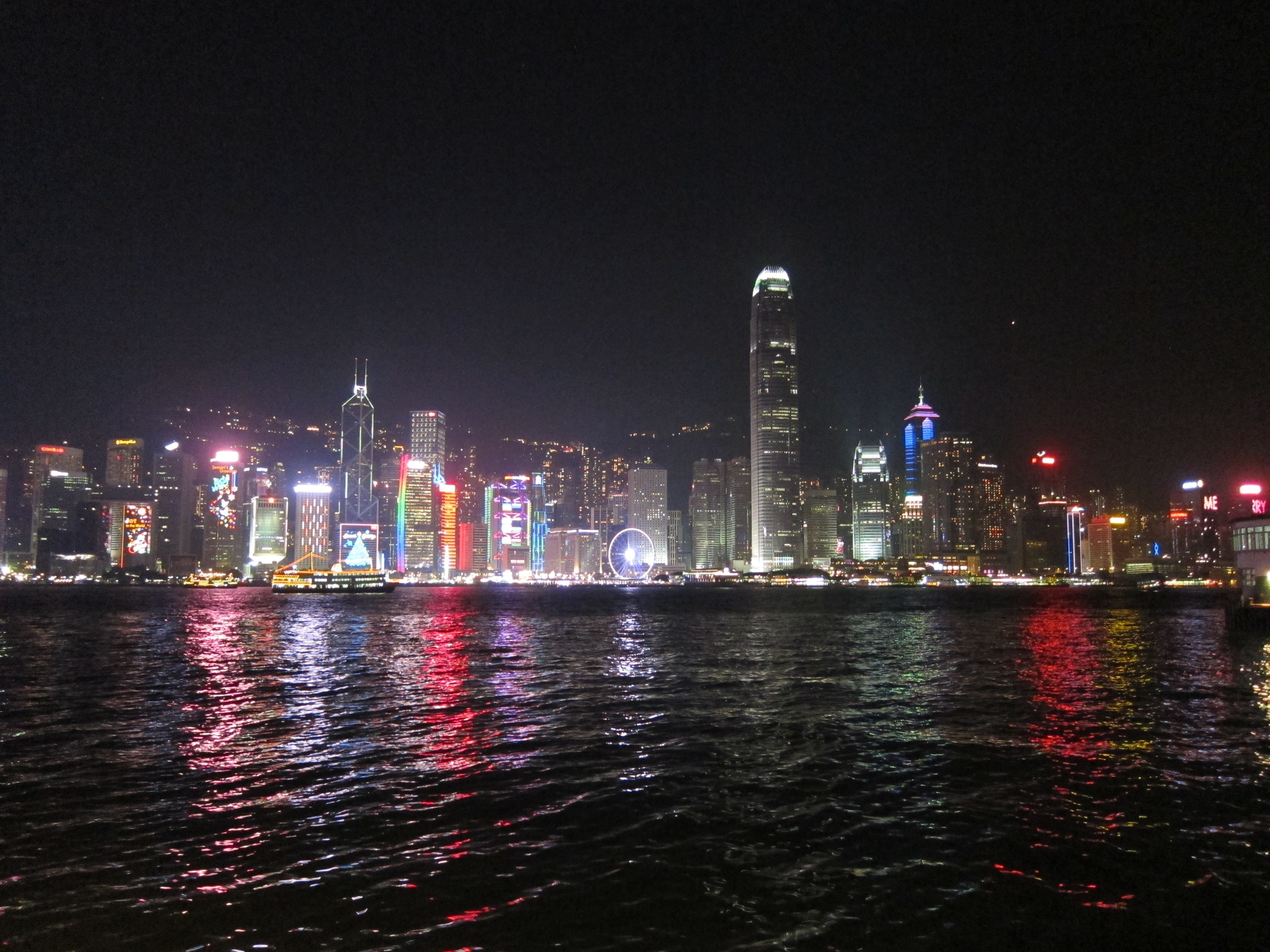HK Night Skyline