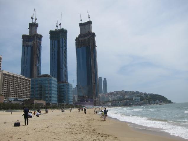 Busan beach!